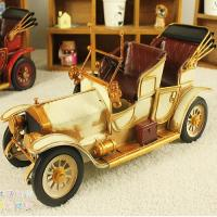 Buy cheap RETRO TIN CLASSIC CAR MODEL NOSTALGIC ANTIQUE IRON ORNAMENT from wholesalers