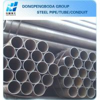 Buy cheap ERW black round steel tube China supplier made in China from wholesalers