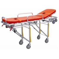 Buy cheap Hospital Emergency Ambulance Stretcher Trolley Aluminum Alloy Automatic Loading Stretcher ALS-S004 from wholesalers