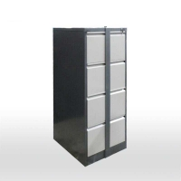 Buy cheap KD Structure 0.089 CBM 620mm Depth 4 Drawer Cabinet from wholesalers