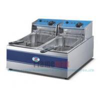 2-tank 2-basket Electric Fryer