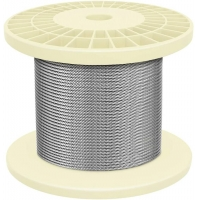 Buy cheap DIY Balustrade Handrail 7x7 150ft 2.5 Mm Wire Rope from wholesalers