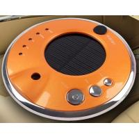 Buy cheap Anions solar car air purifier shell with negative ion HDJHQ3-3 orange color from wholesalers