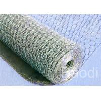 Buy cheap Poultry Fencing Chicken Wire Fence Panels , Electric Zinc Coating Chicken Wire Cage product