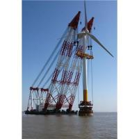 Buy cheap Ecuador,Egypt,Estonia floating crane sell charter supply crane barge 100T TO from wholesalers