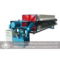 Buy cheap Mineral Tailings Dewatering , Sludge Dewatering Frame Filter Press from wholesalers