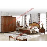 Buy cheap Luxury Design in England Country Style Wooden Bedroom Furniture sets product