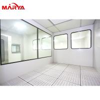 Buy cheap GMP Standard Class 100 Clean Room, Cleanroom Wall Systems Dynamic Pass Box from wholesalers