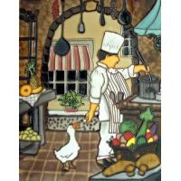 Buy cheap Hand Painted Ceramic Art Tile from wholesalers
