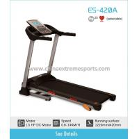 Buy cheap 1.5HP DC motor home usage electric treadmill ES420A from wholesalers