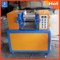 Buy cheap Professional Plastic Rubber Testing Equipment 4 Inch 2 Way Laboratory Mixing Mill from wholesalers