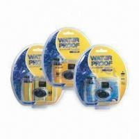 Buy cheap 35mm Disposable Underwater Camera with Flash and 3M Underwater Depth from wholesalers