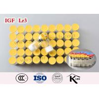 Buy cheap Injectable Original Human Growth Insulin-Like Growth Factor 1 Peptides IGF Lr3 from wholesalers