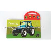 Toy Trucks Push Button Sound Module , Indoor Kid's musical book for baby