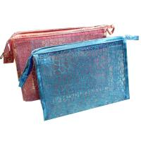 Buy cheap Popular Transparent Cosmetic Bag 23x13x11cm Size 210D linning OEM / ODM from wholesalers