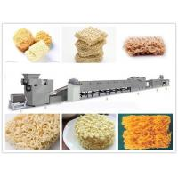 Buy cheap 1 - 3T Weight Instant Noodle Making Machine Silver Color 23*1.5*1.8m Size from wholesalers