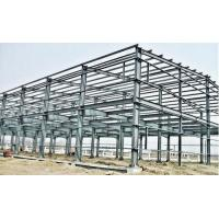 Buy cheap Industrial Large Span Prefabricated Steel Structures With Workshop Bolts Connect from wholesalers