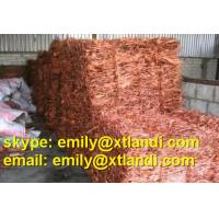 Buy cheap copper scrap scrap Copper scrap skype: emily@xtlandi.com copper wire waste copper wire copper ingot cas: 7440-50-8 from wholesalers