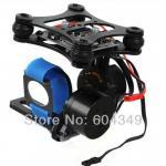 Buy cheap 2-axis Brushless Camera Gimbal GoPro3 Controller PTZ Black aluminum Full parts BGC from wholesalers