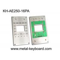 Buy cheap Customizable Industrial Keypad , Stainless Steel Kiosk Keypad 16 Keys from wholesalers