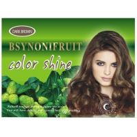 Buy cheap natural herbal hair darkening shampoo hair colorants multi colors from wholesalers
