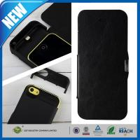 Buy cheap IPHONE 5C Cell Phone Battery Case Viewing Stand , iPhone 5s Case With Battery from wholesalers