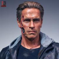 Buy cheap Arnold Schwarzenegger Lfiesize Wax Portrait product