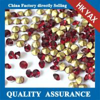Buy cheap china wholesale pointback rhinestone glue on,rhinestone pointback for bags dresses, high quality point back glass stone from wholesalers