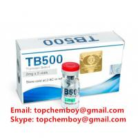 Buy cheap Pharmaceutical Grade TB 500 Injection , Safe TB 500 Peptides For Bodybuilding from wholesalers