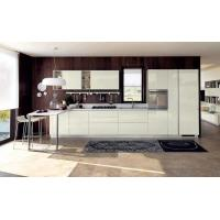 Buy cheap White glass paint door panels, cabinets, open and easy-to-clean kitchen waterproof panels from wholesalers