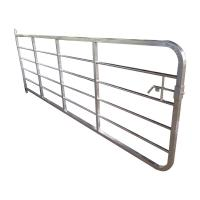 Buy cheap Gray Color Sheep Fence Panels Portable Cattle Yard Panels Alkali Resistance from wholesalers