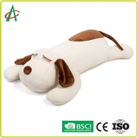 Buy cheap Soft Spandex Plush Toys Pillows Dog Shape 17.5 X 9 Inch from wholesalers