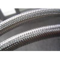 Buy cheap Flexible Conduit Braided Stainless Steel Tubing , Stainless Steel Braided Hose Cover from wholesalers