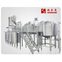 Buy cheap Automatic / Semi Automatic Craft Beer Brewing Equipment 1000L 3 Vessels from wholesalers