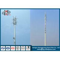 Buy cheap 45m Round Telecommunication Towers Mobile Phone Antenna Towers from wholesalers