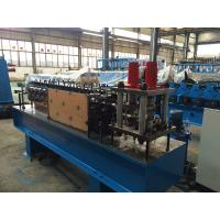 Buy cheap U Shaped Z Purlin Roll Forming Machine 5.5kw Servo Motor , Stainless Steel Material from wholesalers