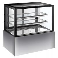 Buy cheap Commercial Refrigerated Cake Display Cabinets 280L Capacity With Sliding Door with 900mm Length and Two Layers product