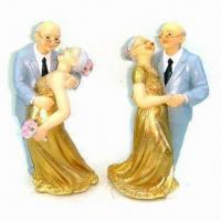Buy cheap Resin Figurine, Measuring 9.5 x 7 x 18.2cm from wholesalers