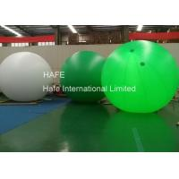 Buy cheap 4m 5m 6m LED Helium Balloon Lights , Event Ad Glow In The Dark Helium Balloons from wholesalers
