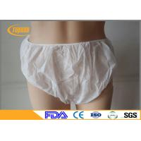 Buy cheap Comfort SPA Disposable Underwear , Disposable Underwear For Travel PP Non Woven from wholesalers
