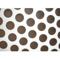 Buy cheap 0.5mm Thickness Perforated Metal Mesh 304 /316 Stainless Steel Material product