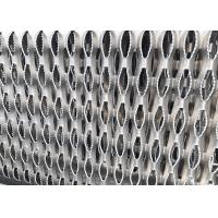 Buy cheap Perforated Diamond Metal Safety Grating 0.1 Thick For Plank Walkway Stair Tread from wholesalers