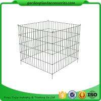 Buy cheap Single Bin Wire Composter Heavy - Gauge , Powder - Coated Steel Wire from wholesalers