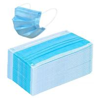 Buy cheap Blue Disposable Civilian Masks Stereo Cutting Workmanship For Comfortable Wear product