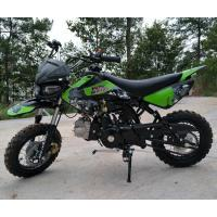 Buy cheap 125cc Dirt Bike Motorcycle 4 Speed Dirt Bike With CDI Electric / Kick Start from wholesalers