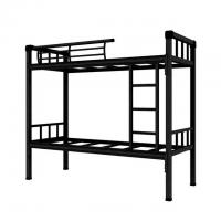Buy cheap China bunk bed manufacturer army school dorm steel double decker bed from wholesalers