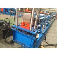Buy cheap Galvanised Sheet Door Guider Custom Roll Forming Machine With High Speed from wholesalers