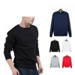 Buy cheap Manufactur custom Logo plain Blank Red Sweatshirt Crew Neck men hoodies from wholesalers