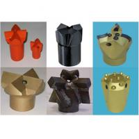 Buy cheap Black & Gold Tapered Cross Bits Top Hammer Drilling 20mm - 65 mm from wholesalers