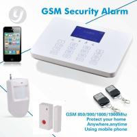 Buy cheap Wireless / Wired GSM Alarm Home Security Alarm System 99 Defense Zones from wholesalers